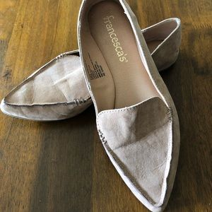 Francesca's Pointed Toe Flats